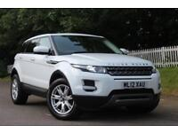 LAND ROVER RANGE ROVER EVOQUE 2.2 ED4 PURE 5d 150 BHP RAC APROVED DEALER (white) 2012