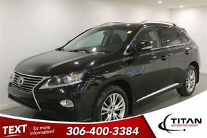 2013 Lexus RX 350 AWD|DVD|Nav|Heated Leather|Nav