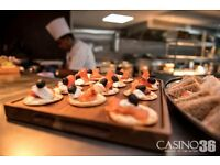 Chef required for Busy Grill & Sports bar in exclusive Casino