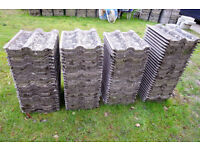 100+ Reclaimed Sandtoft Double Roman Roof Tiles, 15 Years Old