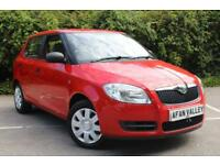 Skoda Fabia Level 1 Htp 5dr **1 LOCAL OWNER** (red) 2009