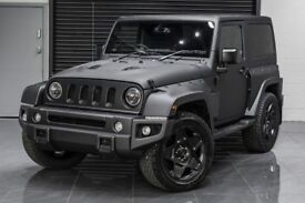 Jeep Wrangler JK Set of 4 20 inch Alloy Wheels Black by Kahn Mondial
