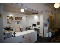 PHOTOGRAPHY STUDIO SHARE / CREATIVE DESK SPACE FOR HIRE - MANCHESTER M1