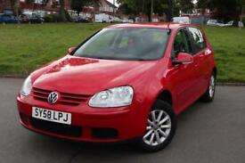 2008 58 VW Volkswagen Golf Match 1.9 Tdi manual Facelift 2 keys excellent condition lady owner