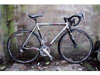 TREK 1200 SL. 22 inch, 56 cm. Racer racing road bike, butted aluminium frame, carbon fork, 14 speed