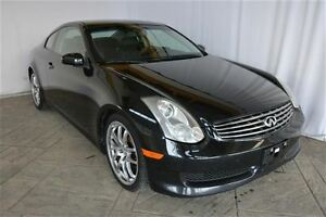2007 Infiniti G35 COUPE WITH LEATHER & SUNROOF