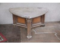 Large Beautiful Hand Carved Meeting Desk/Table/Project