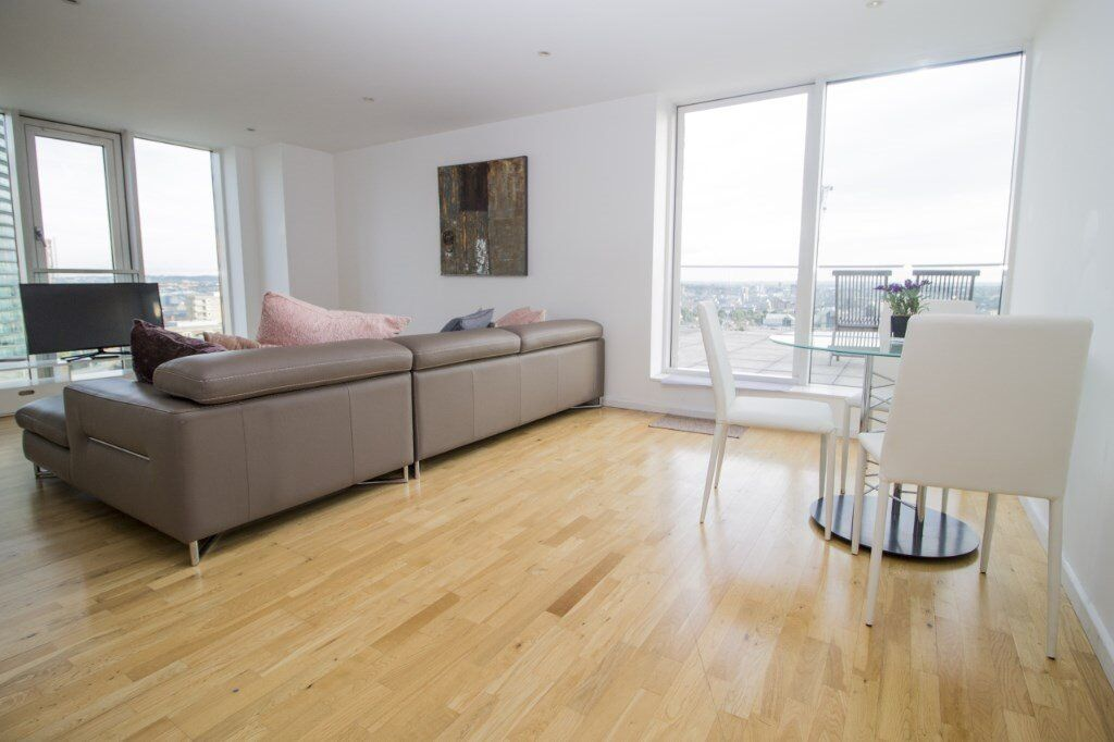 AMAZING 2 BED APARTMENT IN ABILITY PLACE CANARY WHARF E14- IDEAL FOR PROFESSIONALS