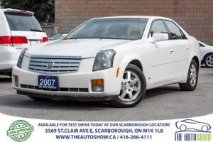 2007 Cadillac CTS 3.6L Leather RearviewCam