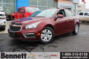 2016 Chevrolet Cruze 1LT - Remote Start, Back Up Cam, Cruise Con