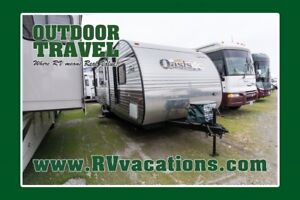 2014 FOREST RIVER SHASTA OASIS 25BH