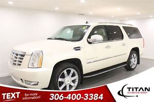 2013 Cadillac Escalade ESV Leather| Sunroof| Captians| PST Paid Regina Regina Area image 1