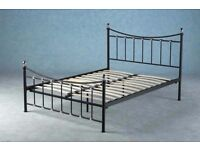 Seconique Dunbar Double Bed, High Foot End