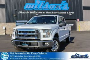 2016 Ford F-150 XLT 4X4 CREW CAB TRUCK! TOW PKG+BACKUP ASSIST! R