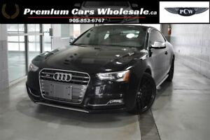 2013 Audi S5 3.0T PREMIUM S5 BALCK ON RED LEATHER FULL LOAD