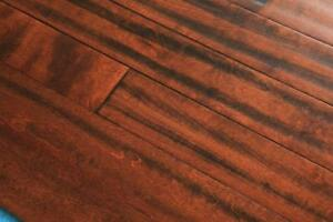 ENGINEERED WOOD FLOORING - GREAT SELECTION -HAND SCRAPPED & WIREBRUSHED