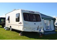 2006 BAILEY PAGEANT VENDEE SERIES 5, 4 BERTH,FIXED BED,SEPARATE SHOWER ,FULL AWNING