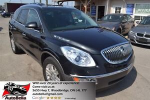2009 Buick Enclave CX/CXL PKG 7 Pass Leather Sunroof AWD Back-Up