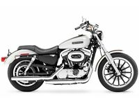 Wanted Harly Davidson Sportster Motorcycle