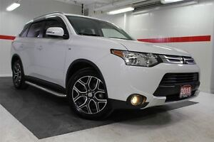 2015 Mitsubishi Outlander 4WD Heated Lthr Nav Sunroof Btooth BU