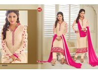 Indian Asian suits and dresses pure fabrics best price grab it