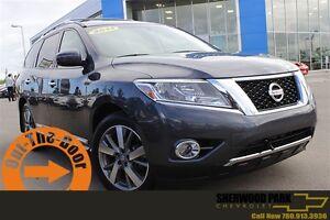 2014 Nissan Pathfinder Platinum| Sun| Nav| Dual DVD| H/C Leath|
