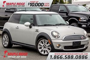 2010 MINI Cooper w/ Low KM & Sunroof