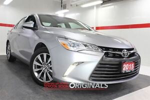 2015 Toyota Camry XLE Heated Lthr Nav Sunroof Btooth BU Camera C