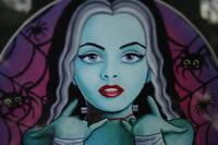 MISS MONSTER by Lisa Petrucci ( Framed Print)