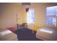 Furnished Large Twin room To-Let. 2 weeks deposit, No agency fee!!