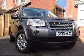 2010 (10) LANDROVER FREELANDER 2 2.2 GS TD4.e (Manual) 158BHP 4X4 TWO OWNERS FROM NEW, TOWBAR