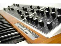 Stolen Memorymoog plus synthesizer