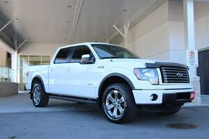 2011 Ford F-150 FX4 Crew Luxury with 3.5L Ecoboost & Max Trailer
