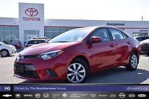 2016 Toyota Corolla Lowest kilometer one owner!