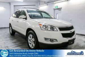 2012 Chevrolet Traverse LT AWD 8-PASS SUV! HEATED SEATS! REMOTE