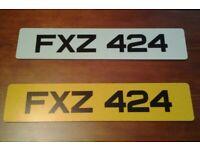 FXZ 424 - Cherished Registration Number (Dateless 3x3 NI registration number)