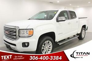2015 GMC Canyon SLT|Back-up Cam|Heated Leather|Nav