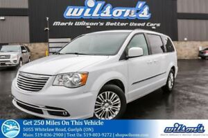 2015 Chrysler Town & Country TOURING 7-PASS! LEATHER! DUAL DVD!