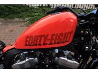 Harley Davidson forty eight 48 need gone asap £6500 takes it away no offers