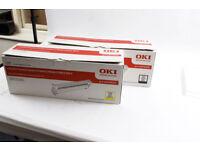 Genuine OKI Black and Yellow Image Drums for OKI C9600, C9650, C9655, C9800, C9800, C9850, C9850