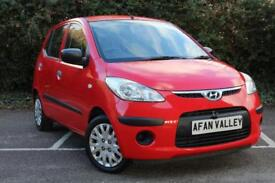 Hyundai i10 Classic 5dr **2 LADY OWNERS** (red) 2009