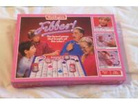 Vintage 1985 Waddingtons Fibber Board Game. Complete And Good Condition.