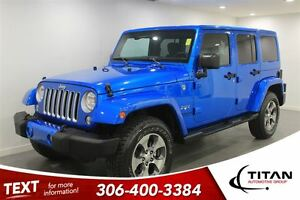 2016 Jeep WRANGLER UNLIMITED Sahara|Blue|Nav|Alpine|Low KMs|Auto