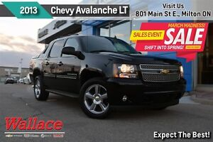 2013 Chevrolet Avalanche LT BLK DIAMOND/1-OWNER/ACCIDENT-FREE/HD