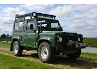 Land Rover Defender 90 300tdi Galvanised chassis