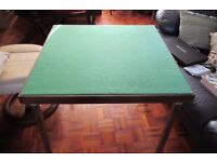 Card tables, one at £40.00, one at £30.00
