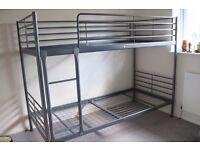 Ikea Grey Metal Bunk Beds