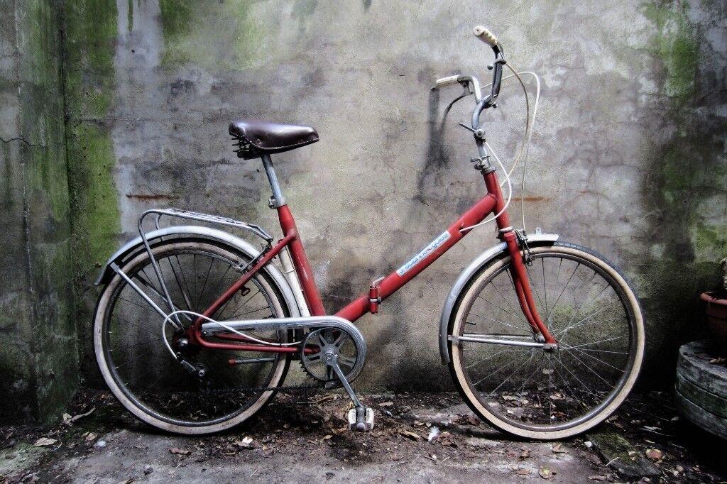 St Etienne Vintage Shopper Folding Bike 24 Inch Wheels