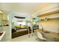 Wonderful modern studio apartment seconds from Camden Market