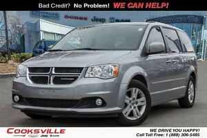 2015 Dodge Grand Caravan Crew PLUS, BACK UP, NAVI, PWR DOORS